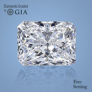 3.01 ct, Color E/IF, Radiant cut Diamond