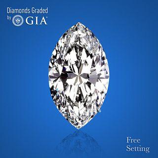 3.12 ct, Color G/VVS1, Marquise cut Diamond