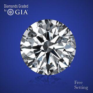 5.01 ct, Color H/VS1, Round cut Diamond