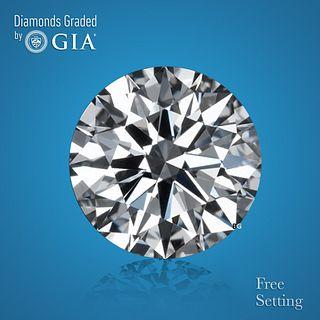 3.02 ct, Color G/IF, Round cut Diamond