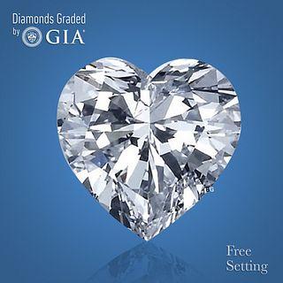 3.01 ct, Color D/IF, Heart cut Diamond