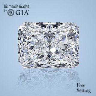 5.12 ct, Color F/VS1, Radiant cut Diamond