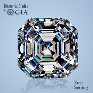 2.00 ct, Color E/VVS2, Square Emerald cut Diamond
