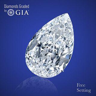 2.01 ct, Color D/VS1, Pear cut Diamond