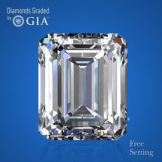 3.14 ct, Color D/FL, Emerald cut Diamond