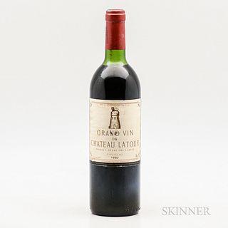 Chateau Latour 1980, 1 bottle