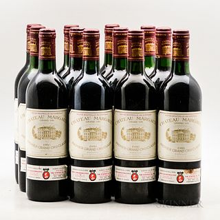 Chateau Margaux 1986, 12 bottles