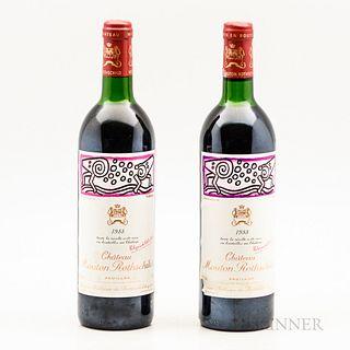 Chateau Mouton Rothschild 1998, 2 bottles