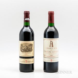 1994 First Growth Duo, 2 bottles