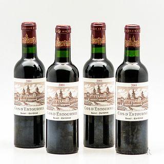 Chateau Cos d'Estournel 2001, 4 demi bottles