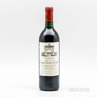 Chateau Leoville Las Cases 1989, 1 bottle