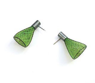 Spark Earrings Green