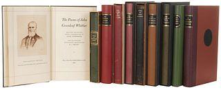 Poemas de Emily Dickinson, Heinrich Heine, John Keats, Long Fellow, John Donne, Robert Burns... Firmados por los ilustradores. Pzas: 10
