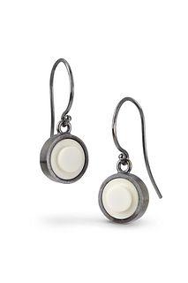 Portland Skies Dot Dangle Earrings