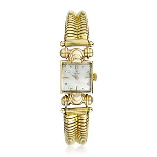Omega Ladies' Watch in 18K Gold
