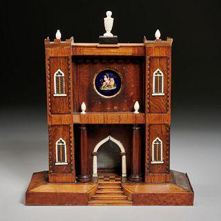 Antique Venetian style architectural reliquary