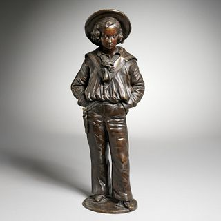 Alexandre Gueyton, bronze of Prince Edward
