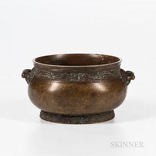 Small Bronze Censer