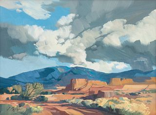 Laurence Philip Sisson  (American, 1928-2015) Untitled Landscape