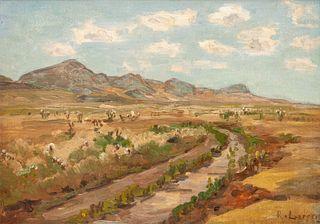 Richard Lorenz (German/American, 1858-1915) The Immigrant Trail