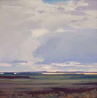 William Hook (American, b. 1948) Distant Sunlight