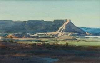 G. Russell Case (American, b. 1966) Cool Mesa, 2000