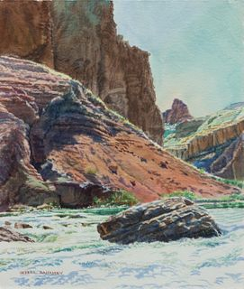 Merrill Mahaffey (American, b. 1937) Hance Rapids