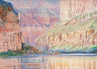 Merrill Mahaffey (American, b. 1937) Lighting Up the River (Marble Canyon),1993