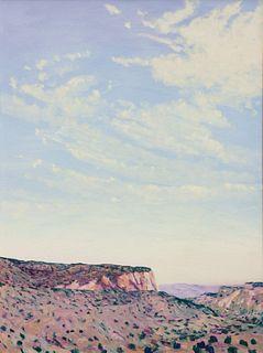 William Berra (American, b. 1952)  Near Los Alamos, 1985