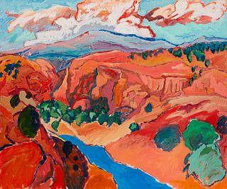 Norman Akers (American, b. 1958) Enchanted Canyon