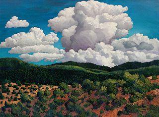Donna Clair (American, b. 1939) Thunderspirits of Taos, 1993