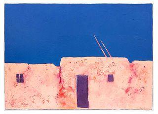 Dan Namingha (Hopi/Tewa, b. 1950) Winter Morning