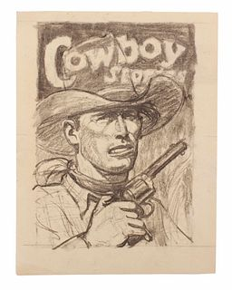 Arthur Roy Mitchell (American, 1889-1977) Cowboy Stories
