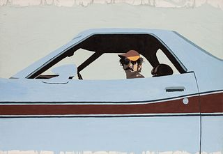Billy Schenck (American, b. 1947) Blue Streak, 1977