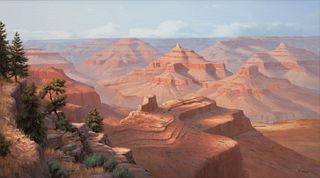 David Flitner (American, b. 1949) Untitled (Red Canyons), 1995