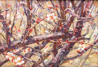 Artist Unknown (American, 20th Century) Flowers
