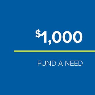 FUND-A-NEED: $1,000