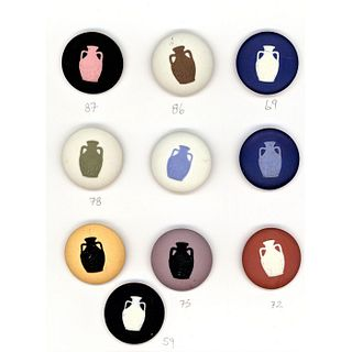Small Card Of Wedgwood Seminar Buttons
