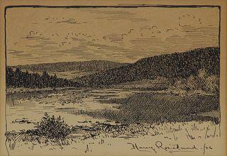 HARRY ROSELAND (AMERICAN, 1866/68-1950).