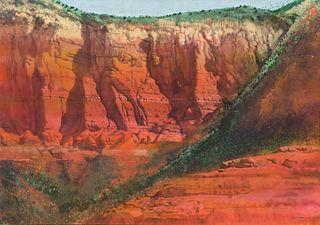 Merrill Mahaffey Lee Mtn, Red Rocks, 1978