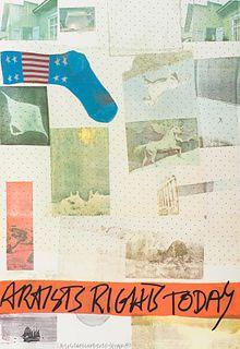 Robert Rauschenberg Artists Rights Today, 1981