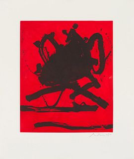 Robert Motherwell The Red Sea II (Belknap 211), 1979