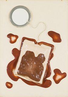 Claes Oldenburg Tea Bag, from 4 on Plexiglas (Axsom & Platzker 36), 1965-6