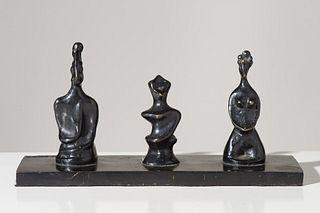 Max Ernst Roi, Reine et Fou, c. 1929-30