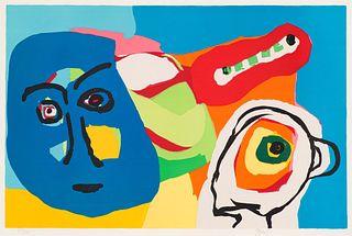 Karel Appel Blue Mask, 1971