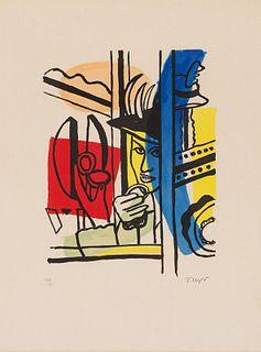 after Fernand Léger La Femme au Poudrier, 1955-9