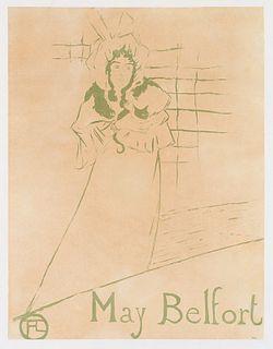 Henri de Toulouse-Lautrec May Belfort (D.354; W. P14; Adr. 126)