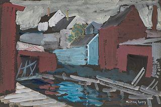 Milton Avery Wharf Reflections