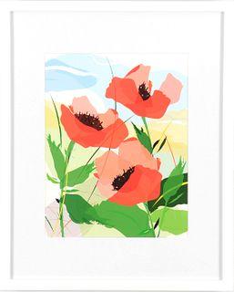 DEBRA MAHER, In The Garden: Poppy