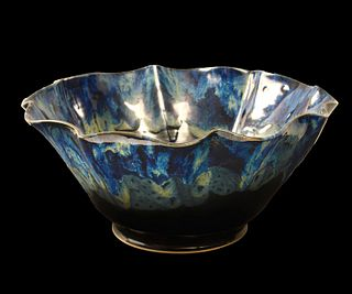 LINDSEY EPSTEIN, Galaxy Blue Lotus Bowl